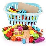 BeebeeRun Corte de Frutas y Alimentos Falsos,Alimentos Juguetes