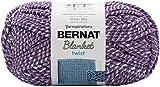bernat Blanket Twists Yarn, Grape Kiss, Purple Haze 300g
