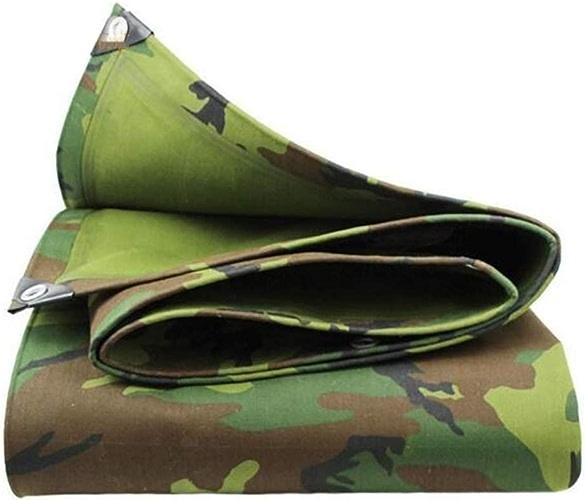 MuMa Bache Camouflage épaissir Imperméable Imperméable Crème Solaire Ombre Oxford Tissu (Taille   3  4M)