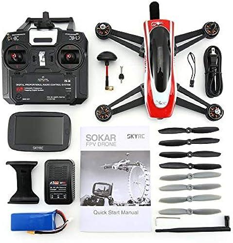 ventas directas de fábrica HoganeyVan SKYRC SOKAR Drone Four Axis Drone 280 280 280 RTF con cámara FPV Monitor de Video y Controlador Romote Construido en 8000mAh Lipo-batería  tienda