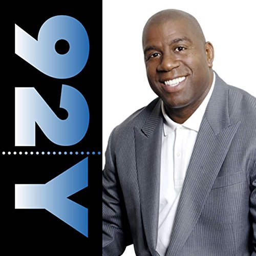 Magic Johnson with Stephen J. Adler audiobook cover art