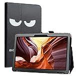 Labanema Funda para Winnovo T10 MTK MT8163, Slim Fit Carcasa de Cuero Sintético con Función de Soporte Folio Case para 10' Winnovo T10 MTK MT8163 Tablet - Don't Touch