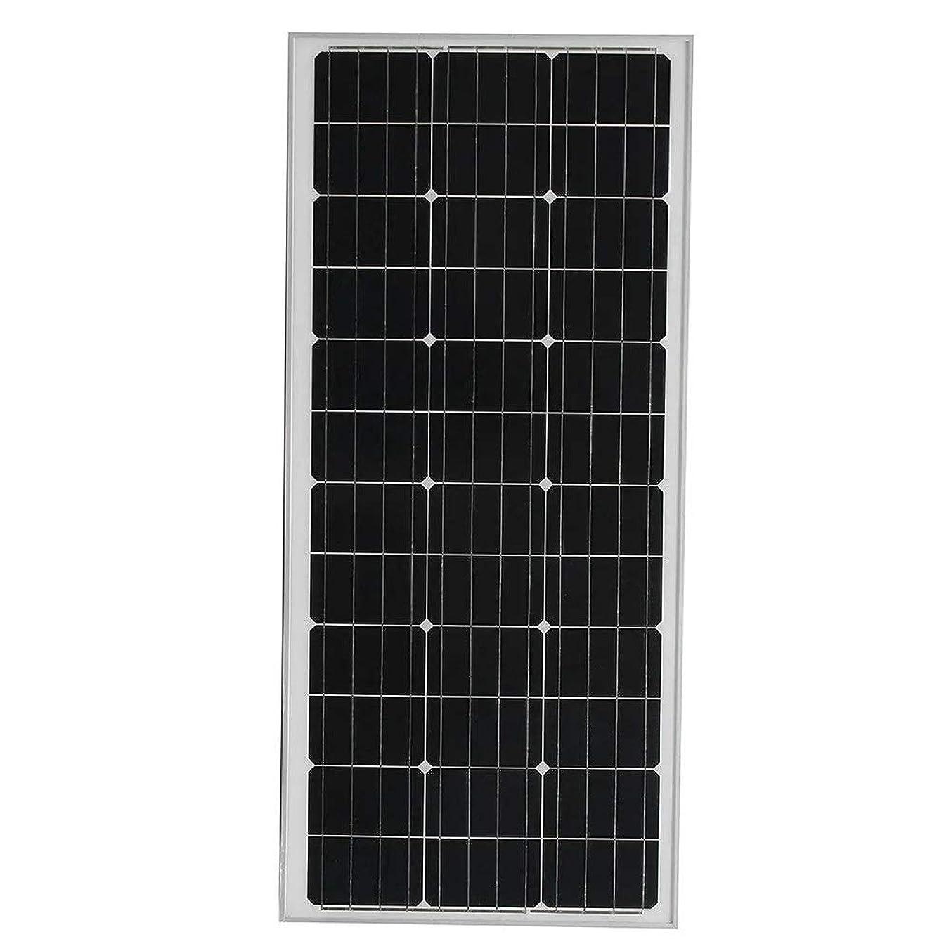 ブランド薄暗い反動ソーラーパネル ボートキャラバンキャンピングカーのために100W 18Vモノラルソーラーパネル充電器 (Color : Black, Size : 1200x540x30mm)