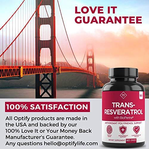 51gkxJGVyuL - New Ultra Therapeutic Resveratrol Supplement - 98% Trans Resveratrol Plus BioPerine - Antioxidant Supplement for Anti Aging and Longevity - 60 Capsule Reservatrol Supplement