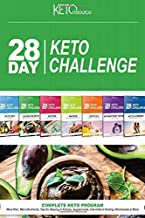 28 Day Keto Challenge: Meal Plan, MacroNutrientes, Tips for Staying in Ketosis, Supplements, Intermittent Fasting, Worksheets & More