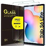 IVSO Templado Protector para Samsung Galaxy Tab S6 Lite, Premium Cristal de Pantalla de Vidrio Templado para Samsung Galaxy Tab S6 Lite 10.4 Pulgadas 2020, 2 Pack