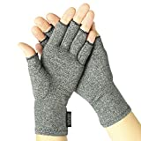 SOOTHING COMPRESSION THERAPY: Embracing the natural shape of each hand, the Vive arthritis gloves are form-fitting, providing therapeutic compression to relieve pain, stiffness and inflammation. The soft compression gloves soothe sore, aching tendons...