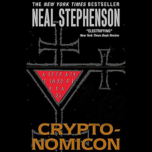Cryptonomicon audiobook cover art