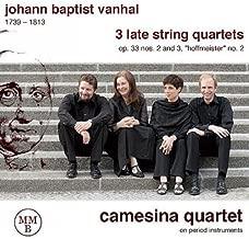 Les 3 derniers quatuors 'Hoffmeister', op.33 N°2 & N°3