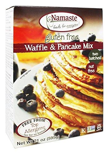 Namaste Foods Waffle/Pancake Mix - 21 oz