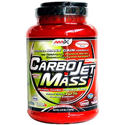 AMIX CarboJet Mass - 1,8 Kg Extra chocolate