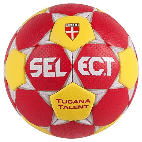 Select Tucana Talent Special Edition Handball - rot/weiß/gelb