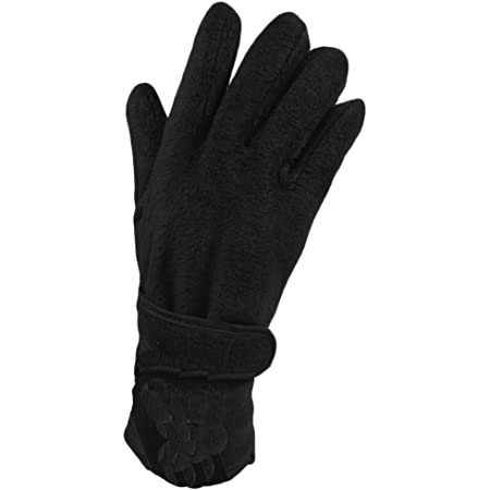 LADIES SOFT WARM THINSULATE FLEECE GLOVES WITH SUPERIOR INSULATION PROPERTIES