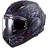 LS2, casco moto modulare VALIANT II Stellar, L