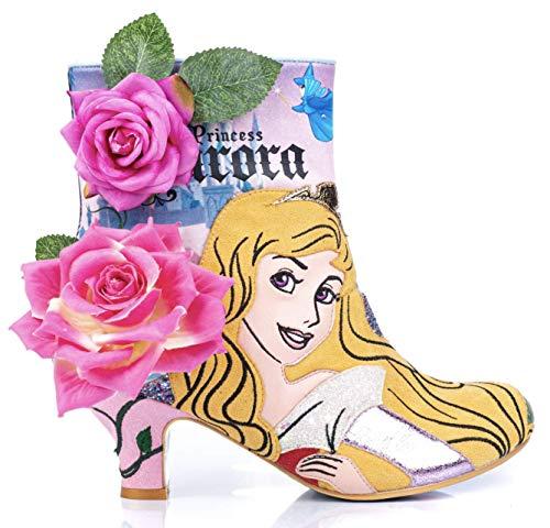Irregular Choice Disney's Dornröschen dames laarzen Princess of Beauty 4261-04A