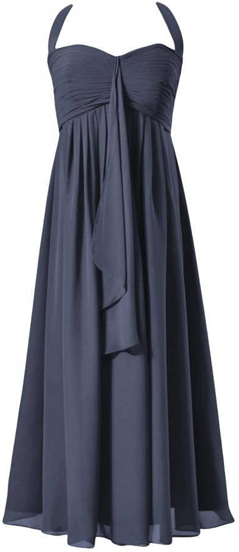 DaisyFormals® Tea Length Halter Prom Dress Maternity Party Dresses(BM892T)