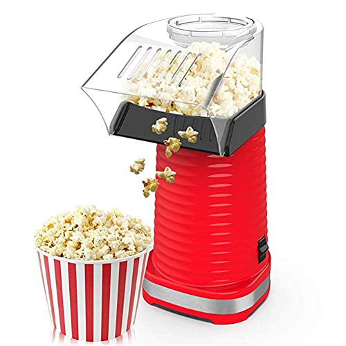 For Sale! ZRXRY Popcorn Maker, 1200W Automatic Mini Hot Air Popcorn Making Machine with Measuring Cu...