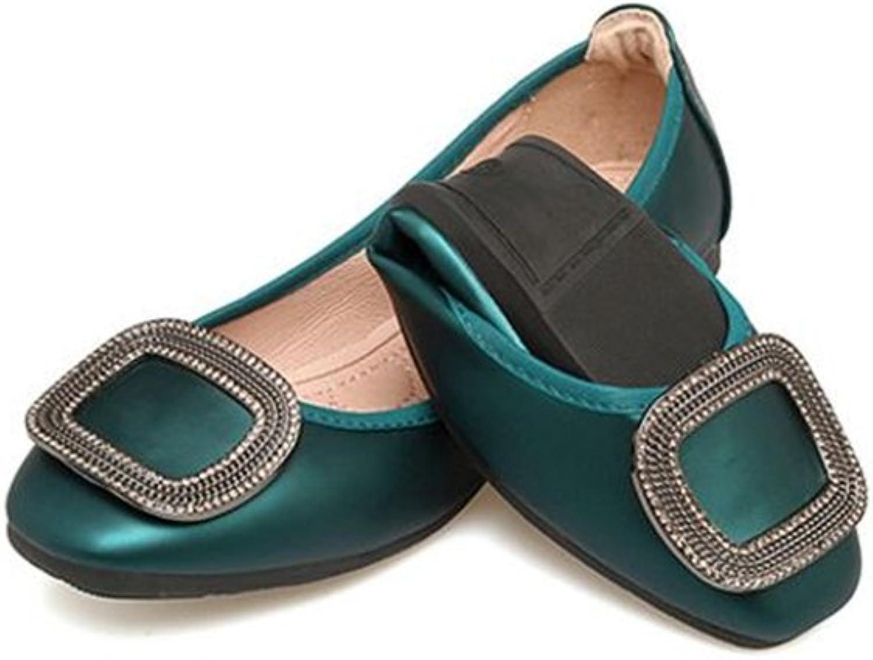 PRETTYHOMEL Autumn shoes for Women Flat shoes Fashion Foldable Female Ballet Flats Soft Casual Pregnant Ladies shoes