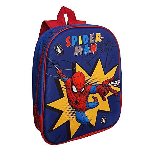 Zaino Asilo 3D Spiderman Marvel Uomo Ragno Borsa Scuola CM.32 - SP0636