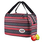 Aosbos Lunch Bag for Women Insulated Lunch Box Soft Cooler Tote Bags Reusable Meal Prep Containers...
