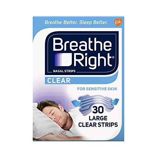 Breathe Right Nasal Strips to Stop Snoring