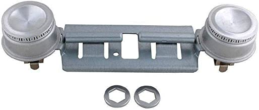 WB16K10026 Double Burner Kit Compatible for GE General Electric Kenmore Range Assembly by Swess Replaces 868697, AP2633210, WB16K10003, 65932, WB29K0001 (1)