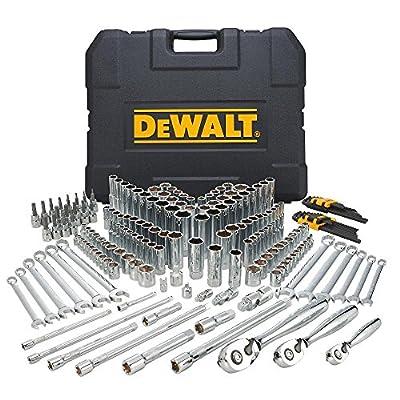 DEWALT Mechanics Tools Kit and Socket Set, 204-Piece (DWMT72165) from Dewalt
