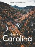 "North Carolina 2022 Calendar: From January 2022 to December 2022 - Super Mini Calendar 6x8"" - Pocket Gorgeous Non-Glossy Paper"