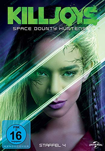 Killjoys - Space Bounty Hunters: Staffel 4 (3 DVDs)