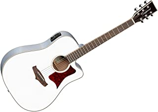 Tanglewood TW5DCE WH White Winterleaf Dreadnought Acoustic-Electric Guitar