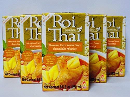 Roi Thai ロイタイ マサマンカレースープ 250ml 5個セット【入り数3】