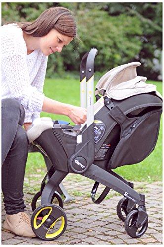 Semplice Parenting–Borsa acoplada per auto Doona Snap On Nero