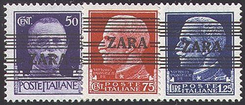 Goldhahn Deutsche Besetzung Zara Nr. 32-34 postfrisch  Briefmarken für Sammler