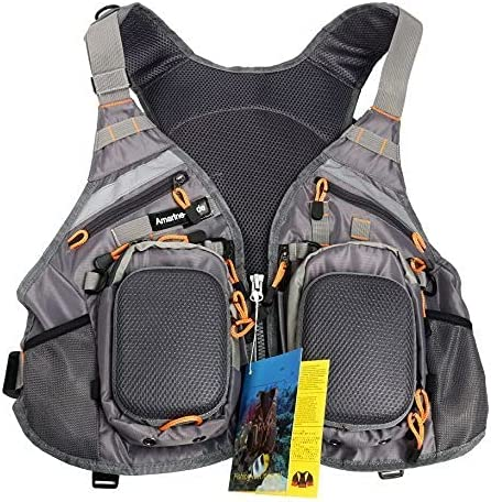 Amarine Made Fly Fishing Backpack Size Adjustable Challenge the lowest price of Japan ☆ V Mesh Max 70% OFF