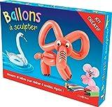 Ballons à sculpter : Contient : 1 livret de 8 modèles, 20 ballons de 7 couleurs...