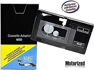 Motorized VHS-C Cassette Adapter For JVC C-P7U CP6BKU C-P6U,Panasonic PV-P1,RCA VCA115, Model: , Electronics & Accessories Store