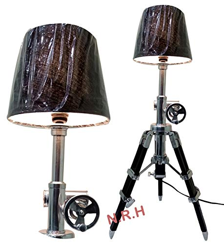 Royal Classic Design Dreifuß Tischlampe Büro & Wohnzimmer Dekor