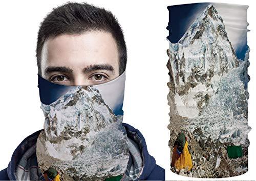 C COABALLA Face Scarf Neck Gaiter - Everest Base Camp SW109580