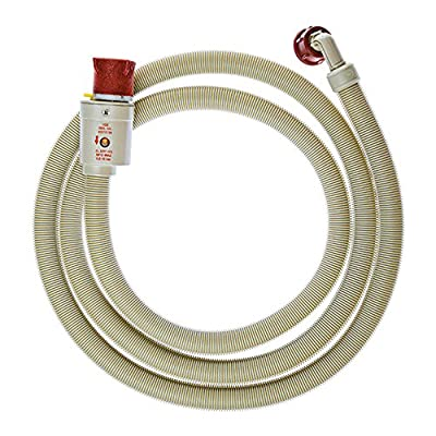 SPARES2GO Universal Flood Prevention Water Fill Inlet Hose (1.5m)