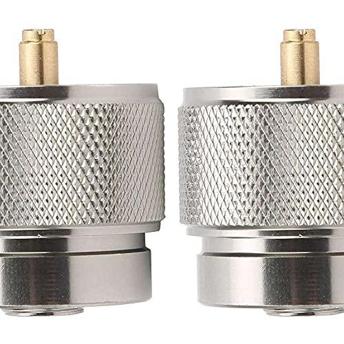 Gmasuber Adaptador de cilindro, 2 unidades de convertidor de tanque de gas propano resistente al desgaste Adaptador de tanque de gas accesorio de camping