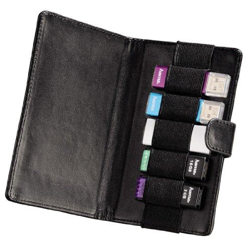 Hama Vegas USB-Speicherstick Case für 5 Speichersticks schwarz