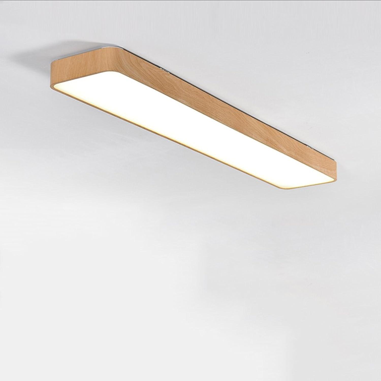 XUANLAN Lampe de plafond LED simple moderne, plafonnier en aluminium rectangulaire de balcon (Couleur   A)