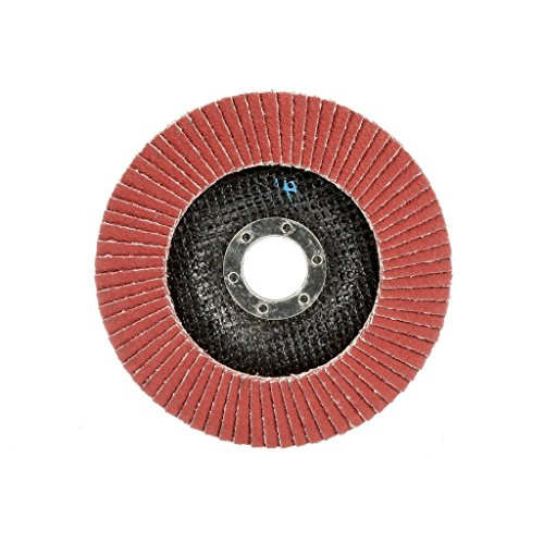 10 Pack 4.5 x 7//8 Ceramic Flap Discs T27 for Stainless Steel /& Heat Sensitive Metals Flat 60 Grit