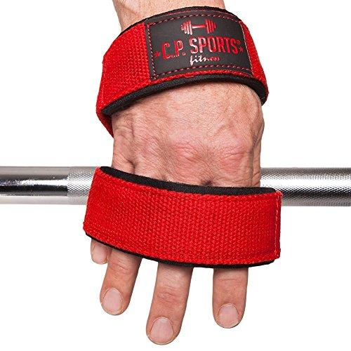 C.P. Sports Zughilfen Ruck Zuck Schlaufen – Figure 8 Straps 8er Schlaufen, Double Loop, Lifting Strap - 3