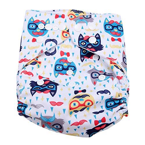 BITHEOUT Pañal Infantil Reutilizable, cómodo pañal de natación Infantil Impermeable para Llevar al bebé para Sacar a tu bebé(BL008)