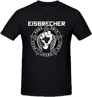 Daryl Cousins Eisbrecher Zehn Jahre Kalt Mens Sexy tee Shirts O Neck