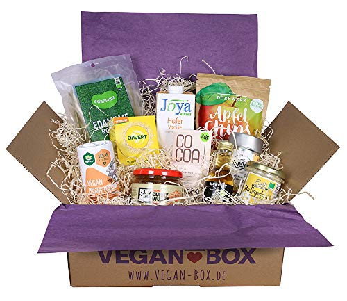 Vegan Box Just Food, Überraschungsbox, Geschenkbox, 100% vegan