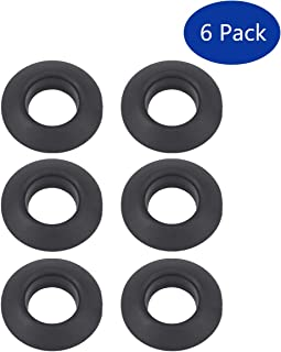 XtremeAmazing Pack of 6 Rubber Kayak Paddle Drip Rings,  Canoe Paddle Drip Ring for Kayak Paddle Shaft
