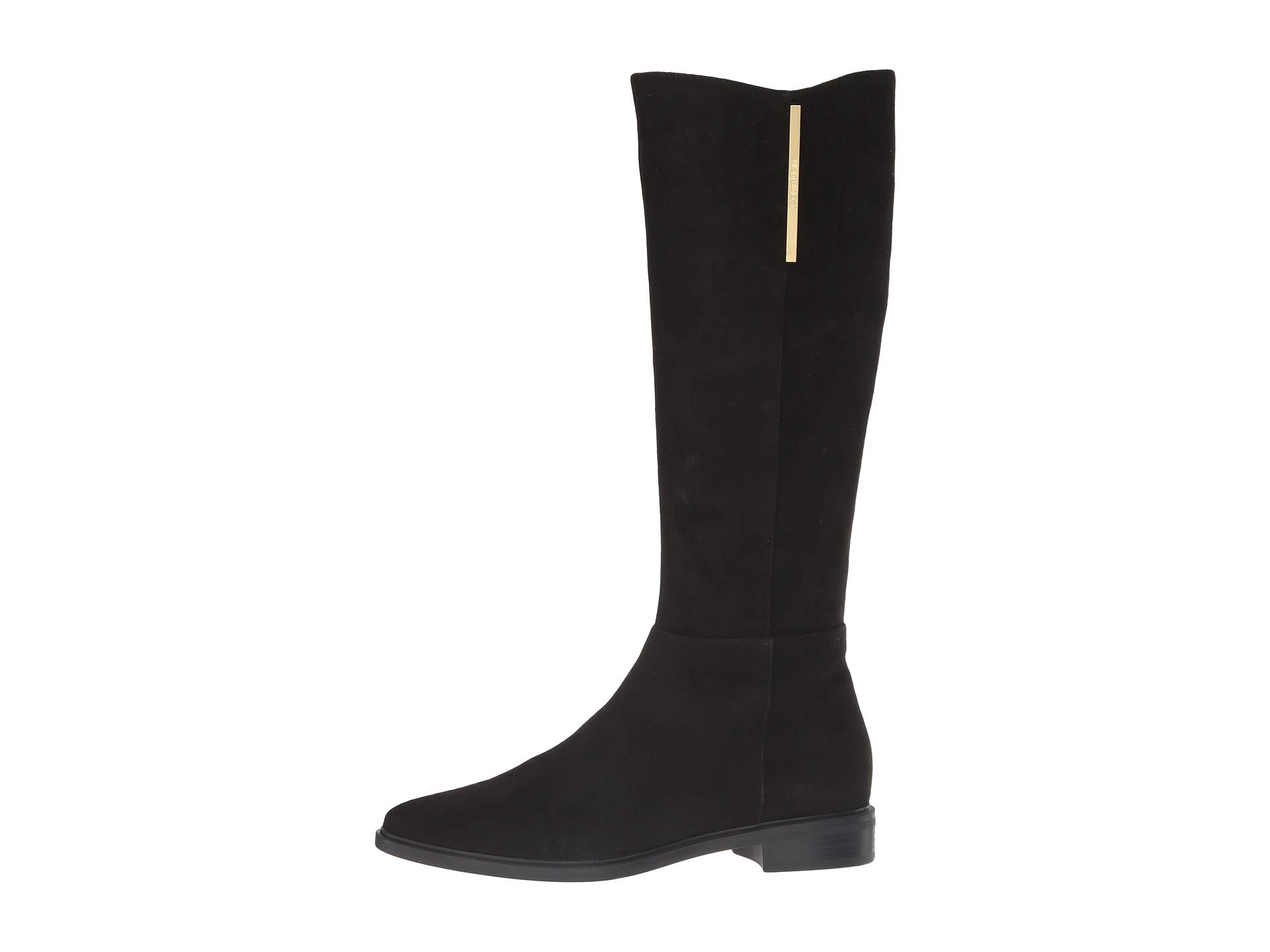 Francine Black Suede Leather Calvin Klein qZwHX5a