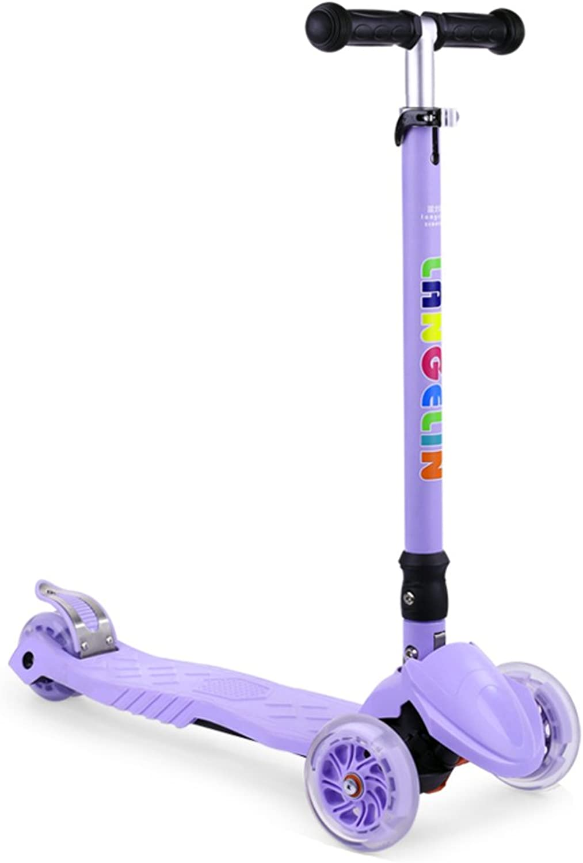 mejor opcion Plegable Plegable Plegable scooter Scooter flash-púrpura  Venta barata